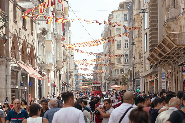 Istiklal Caddesi, Istanbul's Largest Shopping Street