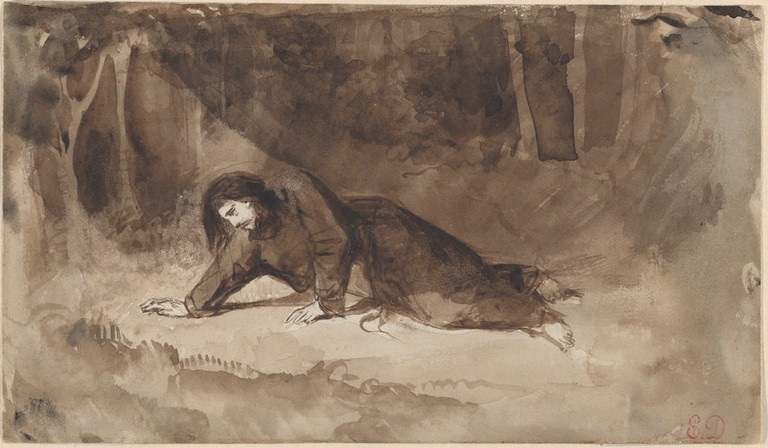 Eugène Delacroix, 'The Agony in the Garden' (ca. 1849)