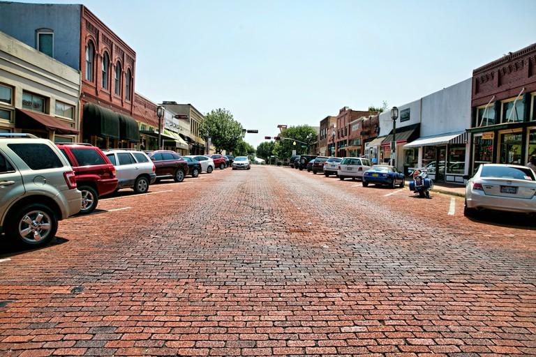 Downtown Plano street view