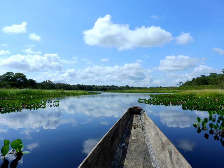 Jungle lake in Guaviare