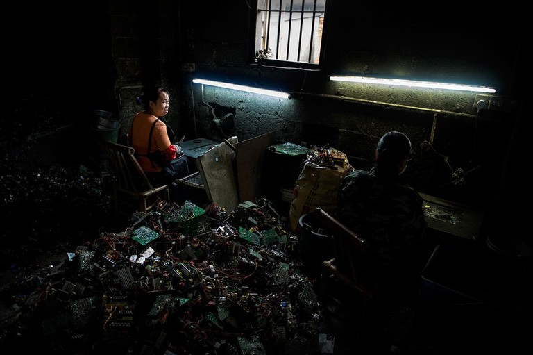 E_waste in Ghana, China, India