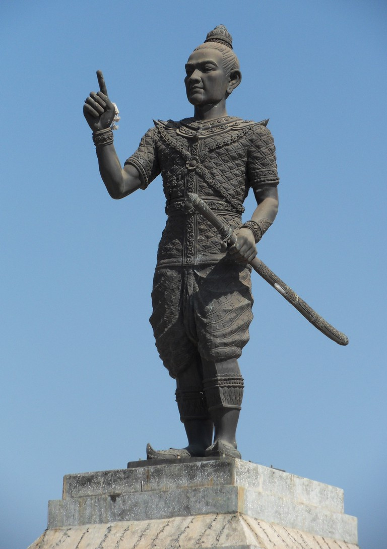 Statue of Fa Ngum, founder of the Lan Xang kingdom