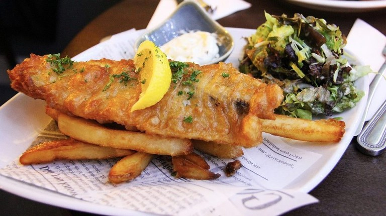 Fish And Chips, Scotland