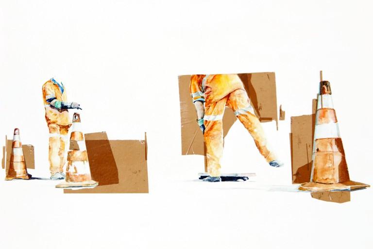 Guilherme Gafi, 'Agentes Concretos' series, 2016