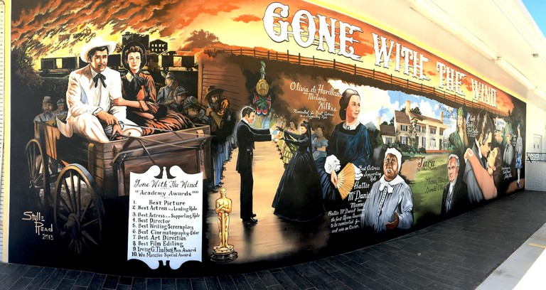 Gone with the Wind mural