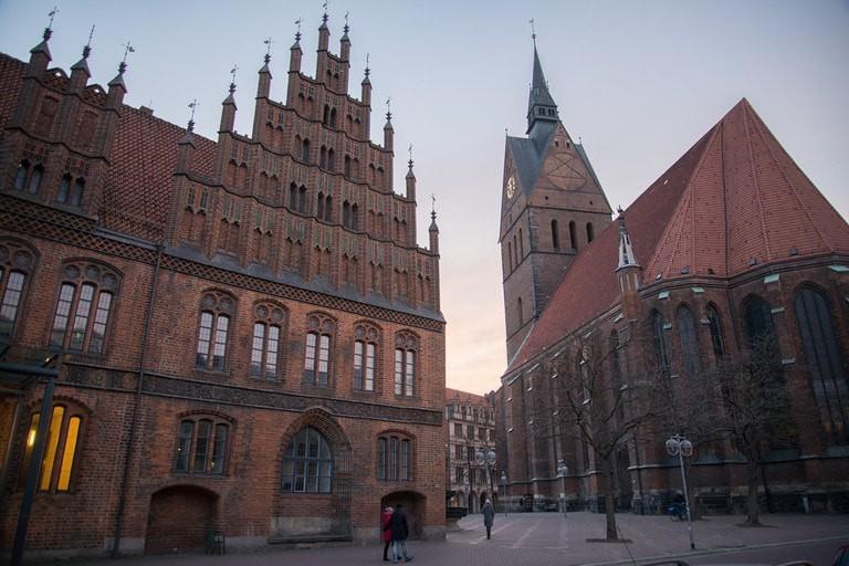 Göttingen skyline