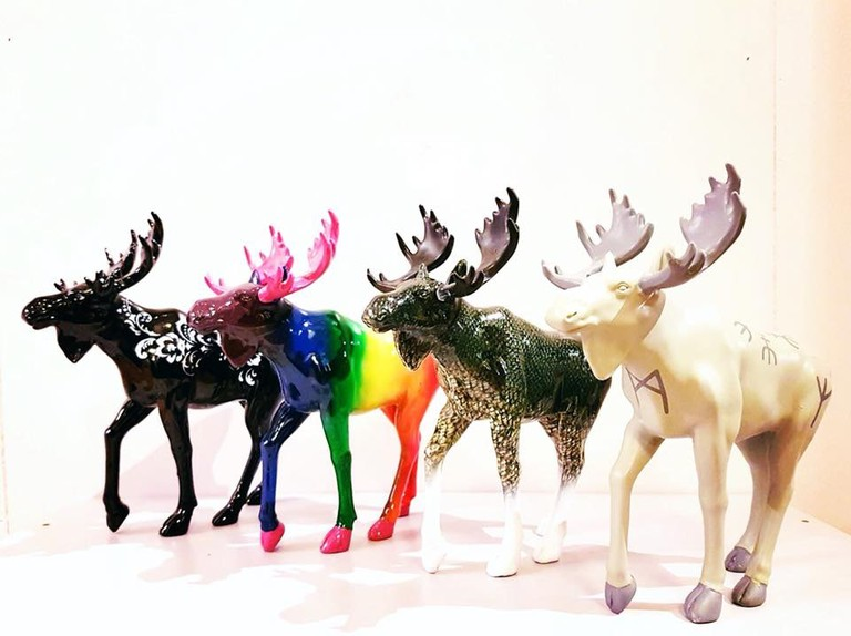 Here you can find moose merchandise like these figurines by Elgr design