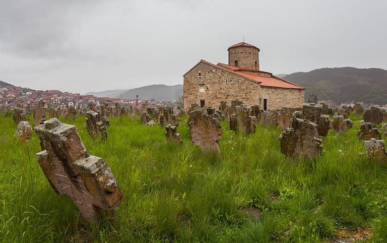 The idyllic church that stands above Novi Pazar, Serbia