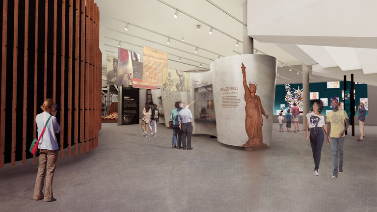 New rendering for Statue of Liberty Museum