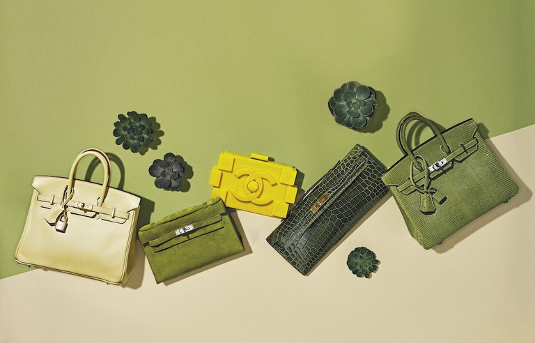Handbags up for auction at Christie's