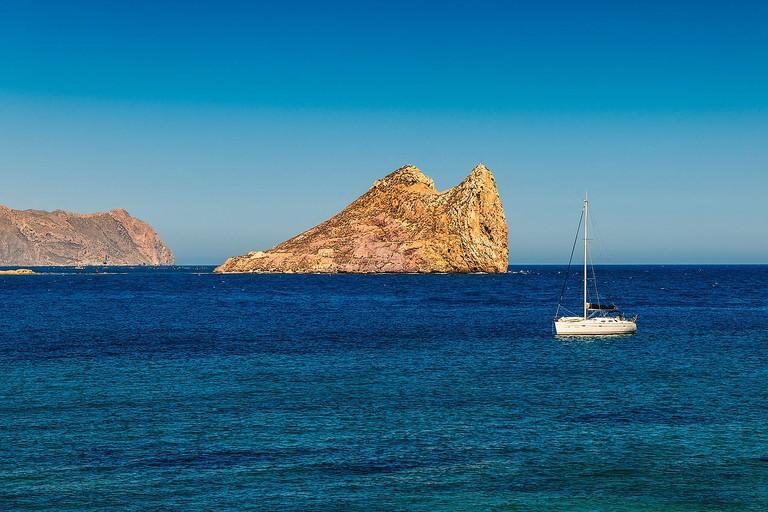 Isla del Fraile, Spain