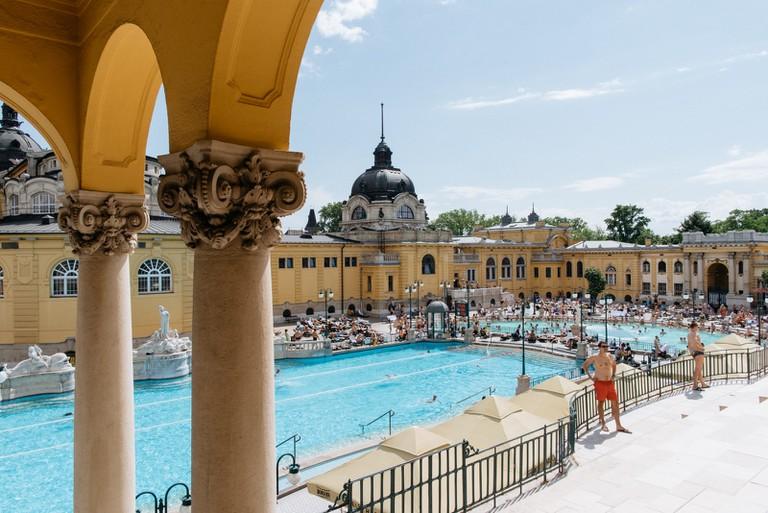 Szechenyi Thermal Spa-BUDAPEST-HUNGARY