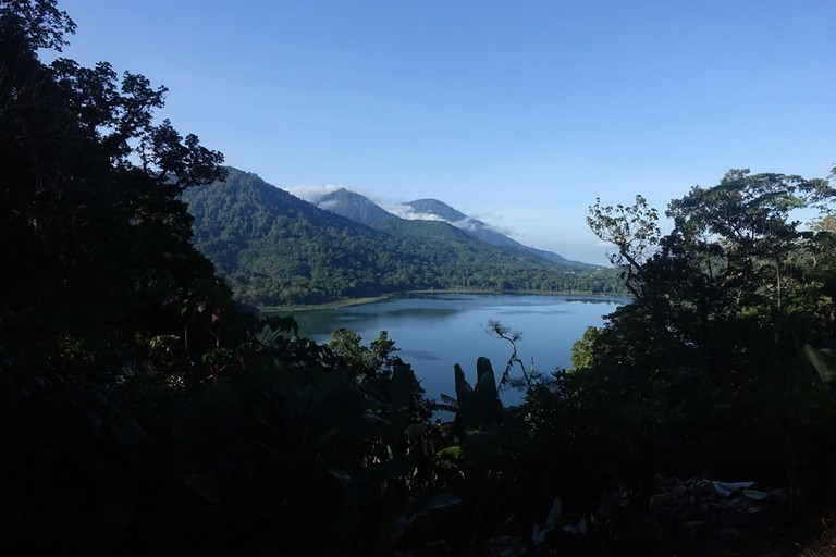 The starting point of the rainforest trek at Lake Tamblingan