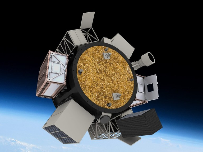 Lockheed Martin CubeSat In Space