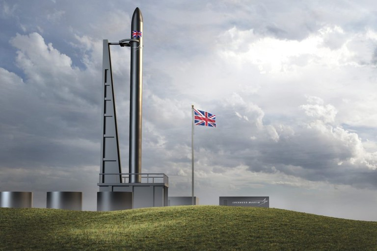 Illustration Of The Proposed UK Spaceflight Launchpad By Lockheed Martin
