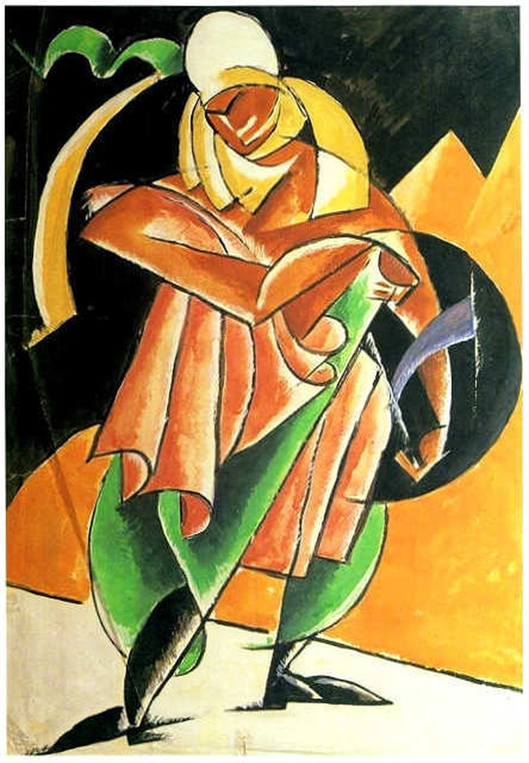 Lubov_Popova._Zhretz_Tarkvinny_(1922)
