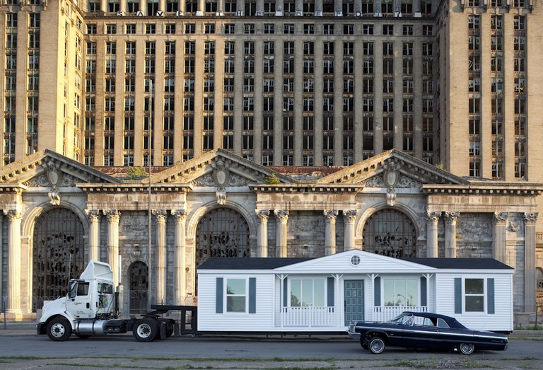 Mike Kelley's 'Mobile Homestead' at Grand Central Station