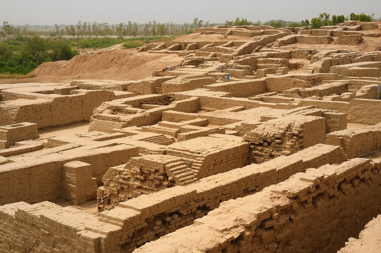 Mohenjo-daro ruins, Pakistan