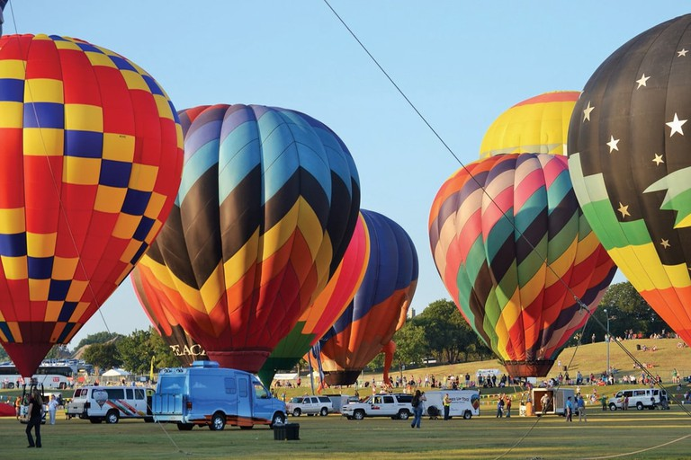 The Plano Balloon Festival is a colorful and awe-inspiring experience