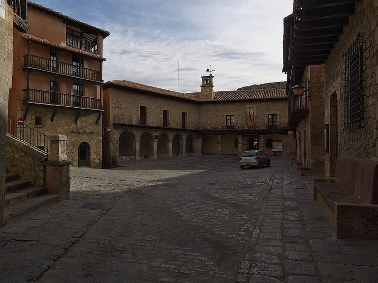 Plaza Mayor, Albarracín