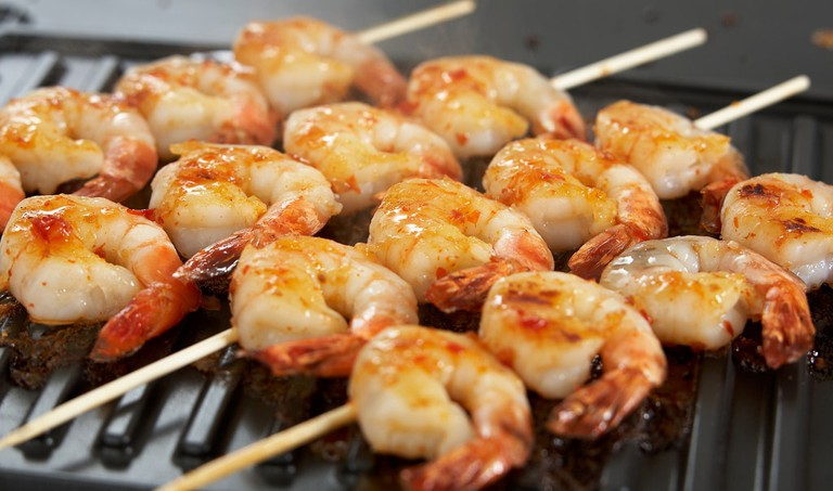 Prawns on the barbie © Breville USA / Flickr