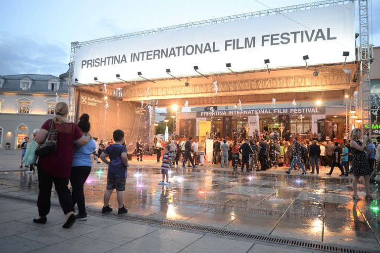 PriFest screens international and local cinema productions in the capital city of Kosovo