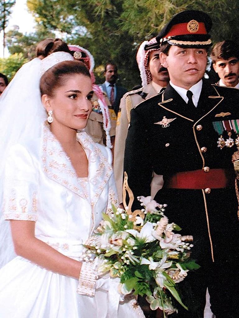 Queen Rania's wedding.