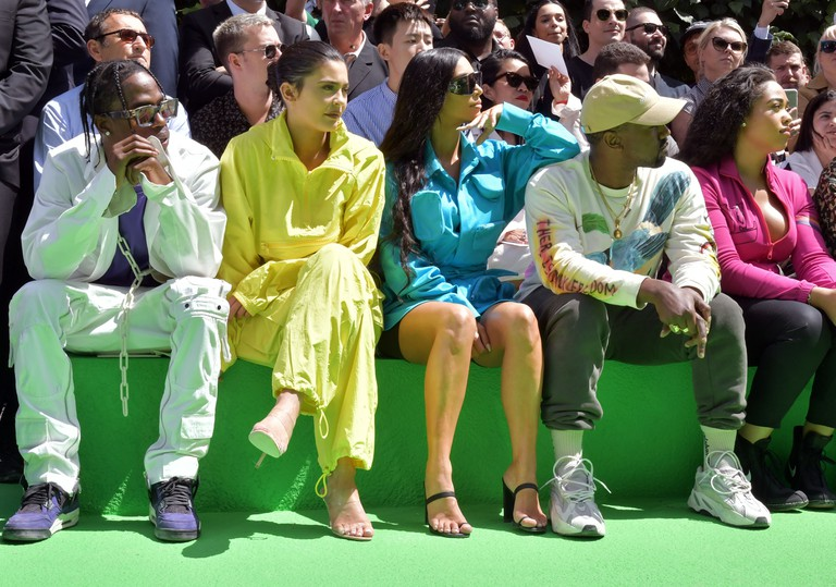 Louis Vuitton show, Front Row, Spring Summer 2019