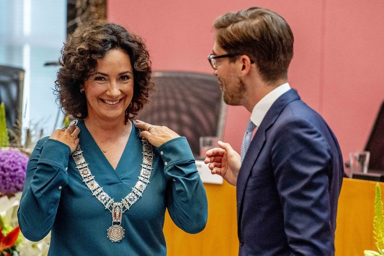 First female mayor: Femke Halsema takes over the Amsterdam's mayor's office, Amsterdam