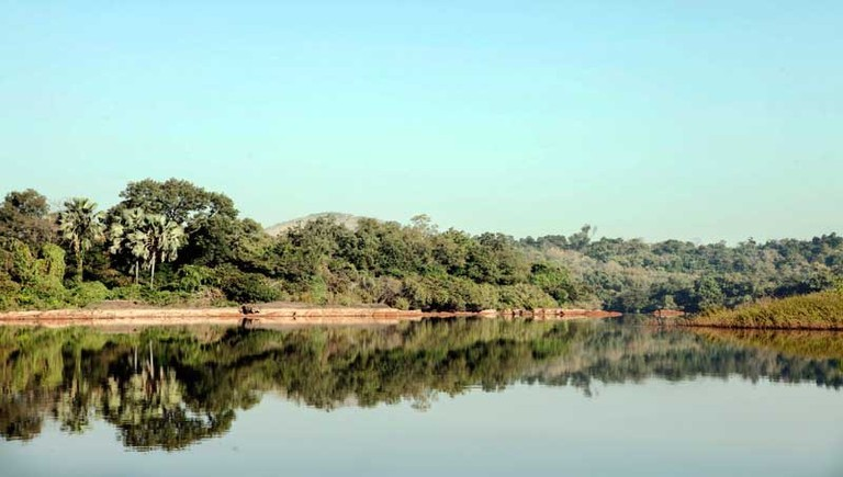 River Gambia in view