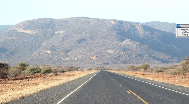 Road trip from Marsabit to Nairobi