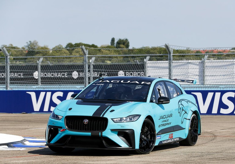 The Jaguar I-PACE will be the featured vehicle in the I-PACE eTrophy series