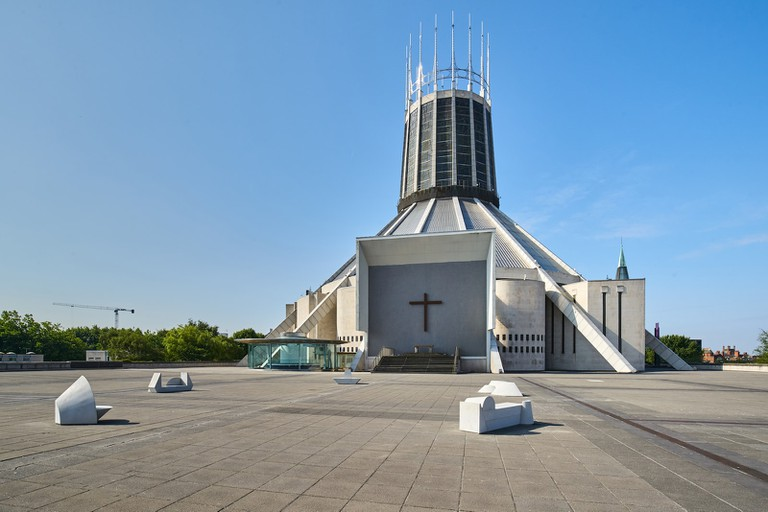 Ryan Gander's installation at Liverpool Metropolitan Cathedral, 2018
