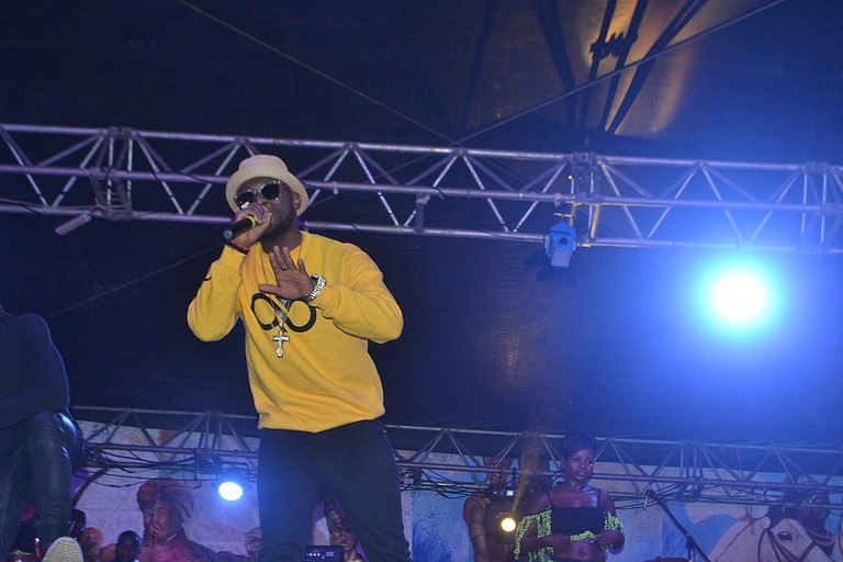 Salatiel at Douala Hip-Hop Festival