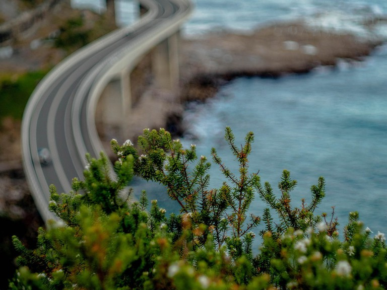 Sea Cliff Bridge near Wollongong © Tim Brennan / Flickr