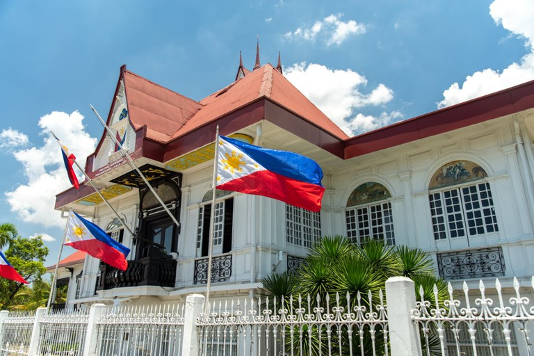 Emilio Aguinaldo Shrine in Kawit, Cavite, Philippines.