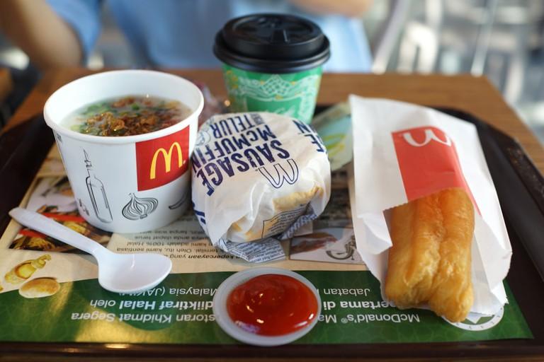 fast food items malaysia