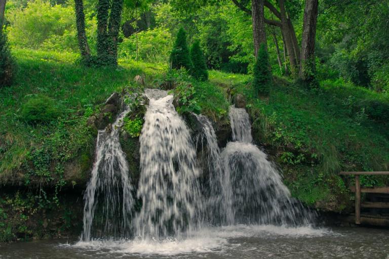 Gradac river in Serbia