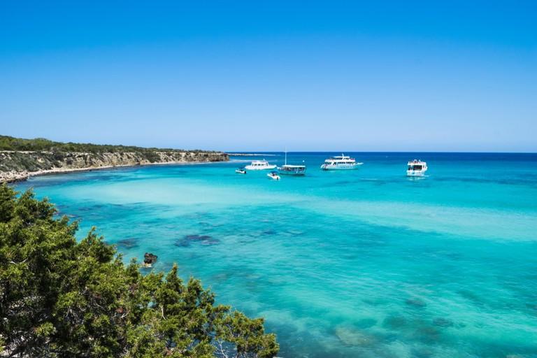 Blue Lagoon in Cyprus