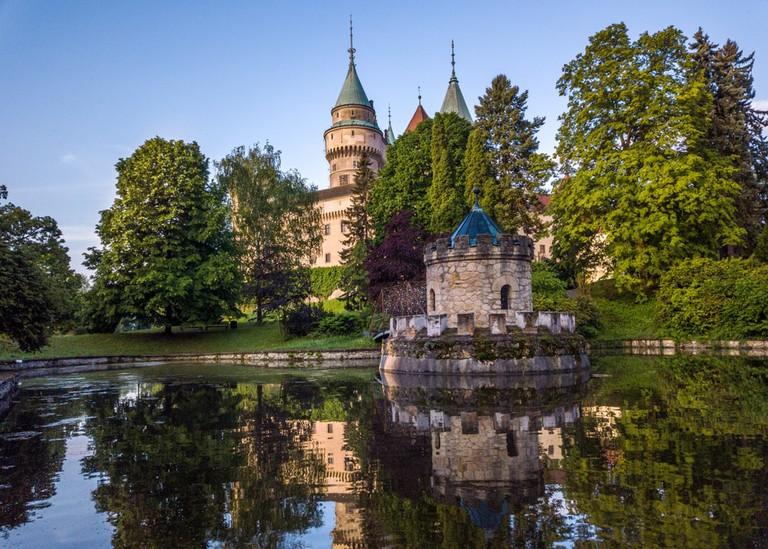 Castle Bojnice, central Europe, Slovakia.
