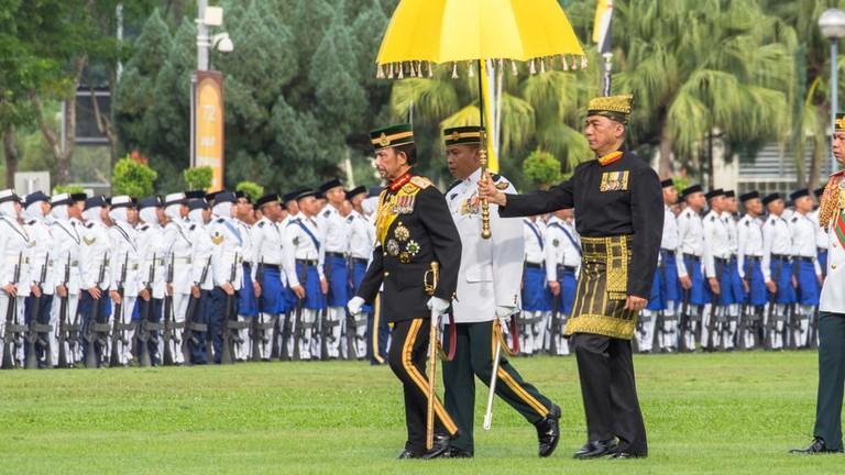 Sultan Brunei celebrates his 72th Birthday at the SOAS Garden