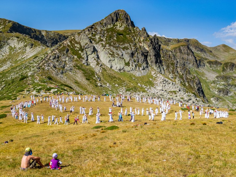 Universal White Brotherhood at Rila Mountains, Bulgaria.