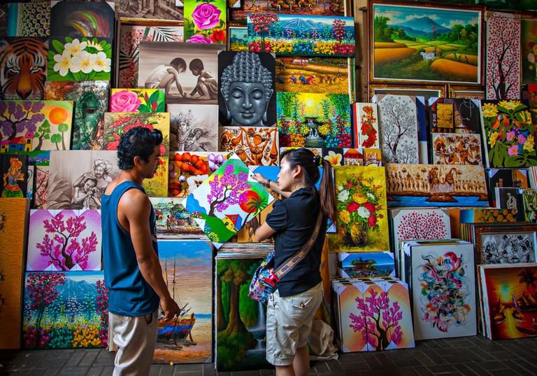 Sukawati Art Market, Bali, Indonesia