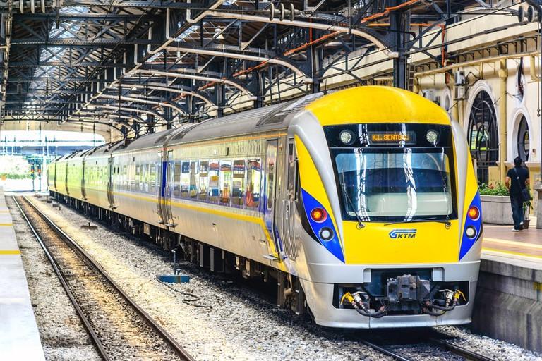 Kuala Lumpur Railway Station is a railway station