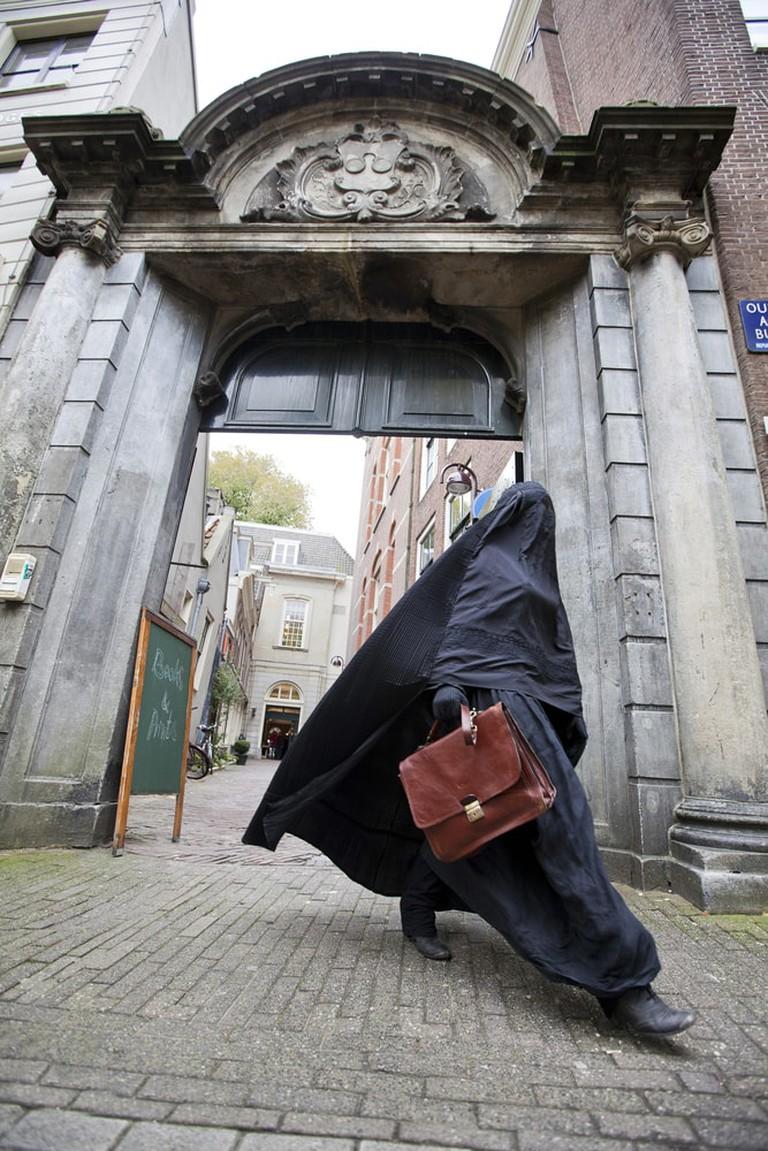 Woman in Burka, Netherlands