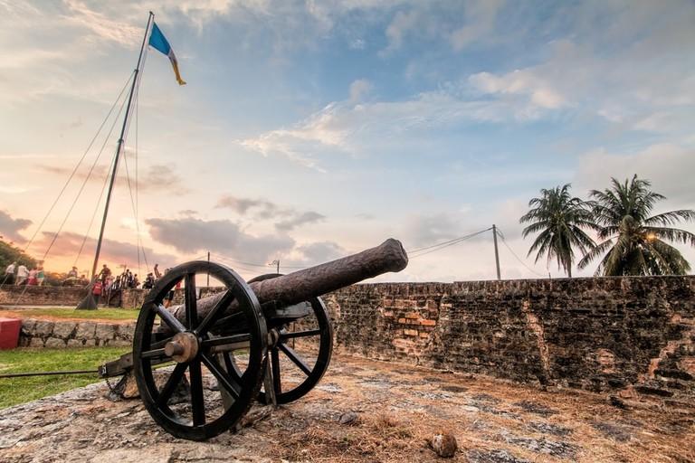 Fort Cornwallis in George Town, Penang, Malaysia