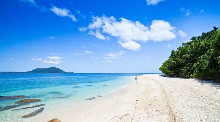 Relax on Fitzroy Island, off the coast of Cairns