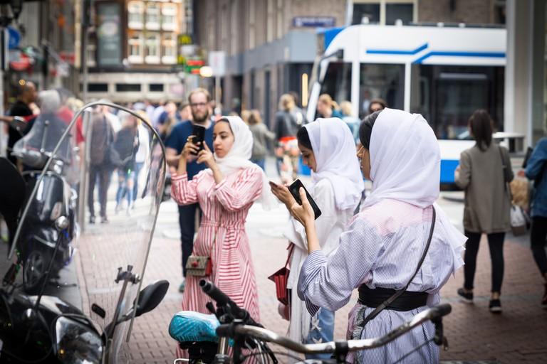 Muslim women in Amsterdam
