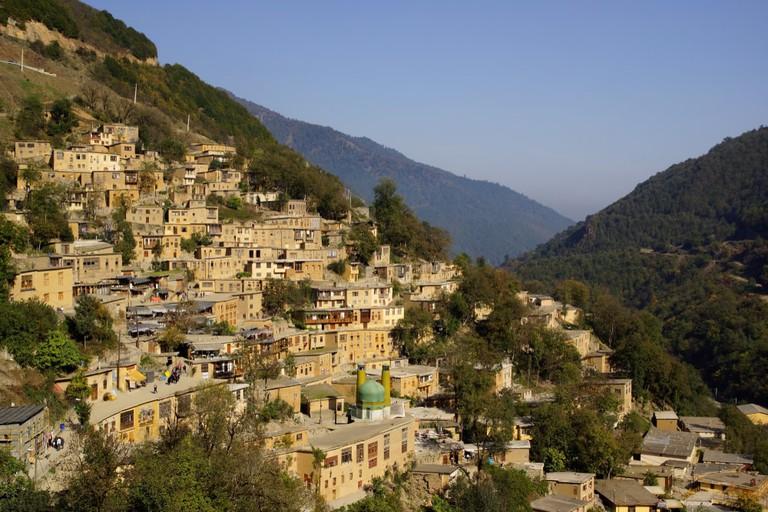 Masuleh village, Iran.