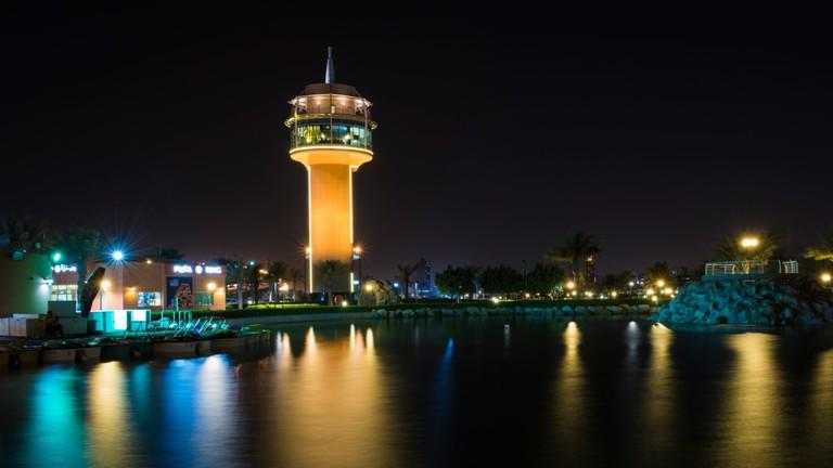 Prince Khalifa Park in Hidd, Bahrain